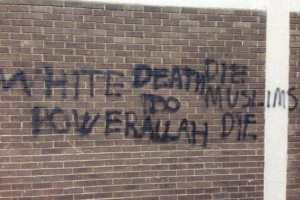 Sikh temple in Britain vandalised with anti-Muslim message