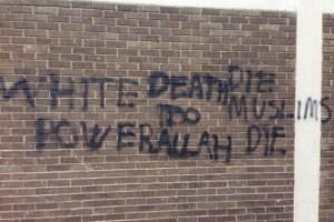 Sikh temple in Britain vandalised with anti-Muslim message