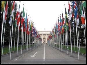 ['The Palais des Nations in Geneva, Switzerland': image by Gryffindor under license CC 3.0]